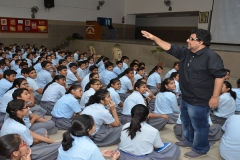 Mr. Parnab Mukherjee's interaction with Sanskar students